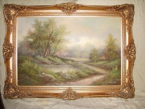 Country Scene, Oil Painting