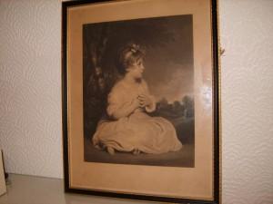 Samuel Cousins, Mezzotint Engraving, Sir Joshua Reynolds