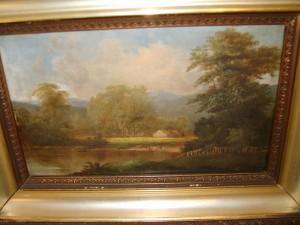 John Varley, Oil Painting
