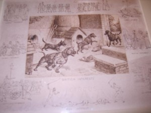 Frank Paton Signed Etching c.1891