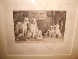 Frank Paton Signed Etching, c.1890's