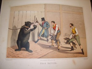 Henry Alken, Engraving, Bear Baiting
