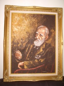 George Bernard Shaw Portrait Oil Painting