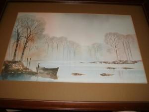 Nick Grant, The River Dove, Dove Dale, Derbyshire, Water Colour