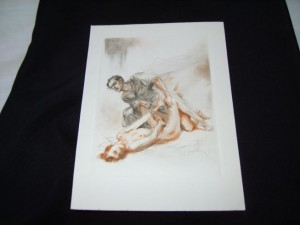 Almery Lobel-Riche Erotic Etching