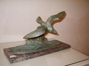 Speltyer, Sea Bird Figure by M. Font