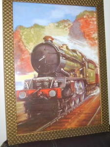 Railway, Steam Engine Print