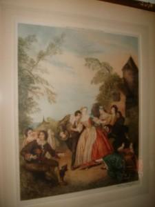 Stipple Engraving, Blind Mans Bluff, William J Allingham