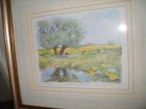 Angela Fielder, Limited Edition, Buttercup, Meadows.
