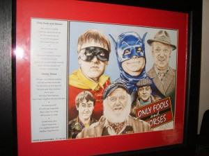 Only Fools and Horses, Del Boy, Limited Edition Print.
