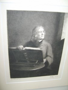Thomas Gainsborough, The Parish Clerk, Etching by Waltner