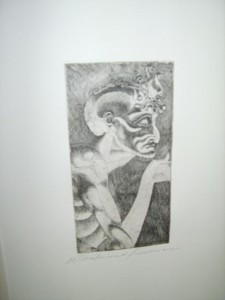 Abstract, Limited Edition, Etching.