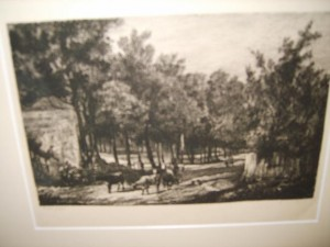 Rural, Country, Etching, R.S.Chattock