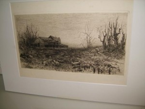 Stephen Parrish, Etching, November