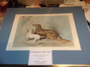 19th Century, Coloured Engraving, Sir Edwin Landseer, C.G.Lewis