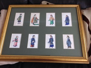 19th century Chinese Water Colours on Rice Paper