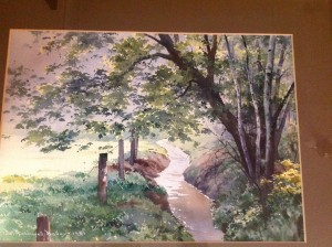 Water Colour Painting, Dennis Rothwell Bailey