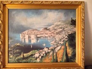 Dubrovnik, Oil Painting