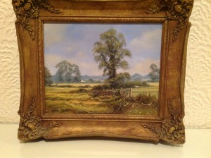 Oil Painting, Essex Landscape, Christopher Osborne