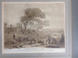 Engraving, Mezzotint, Richard Earlom, Claude Lorraine.