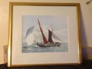 Christine Slade, Pastel Painting